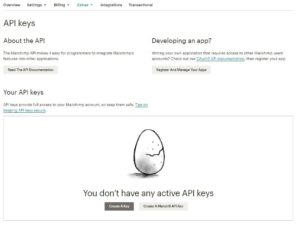 MailChimp API KEY 3