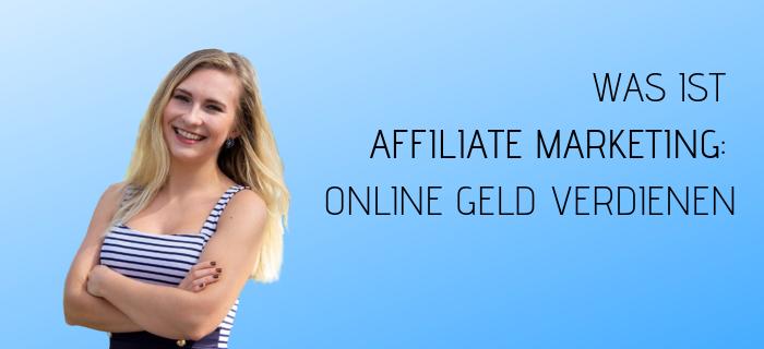 affiliate marketing online geld verdienen