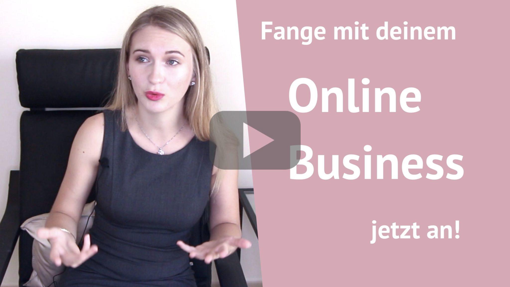 online business anfangen